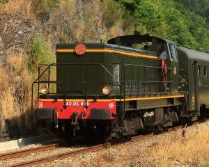Le 040 DE 895 lors d'un train Eymoutiers-Limoges en 2013.