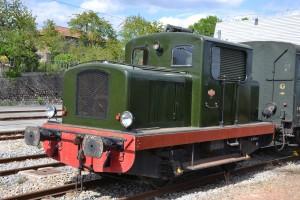 Le locotracteur Moyse.