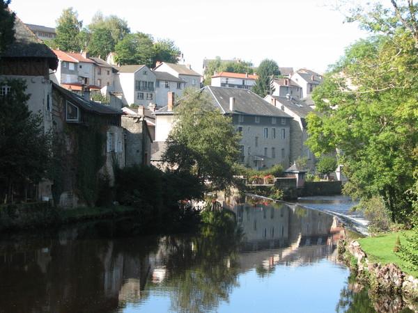 La ville d'Eymoutiers - Photo : Office de Tourisme d'Eymoutiers
